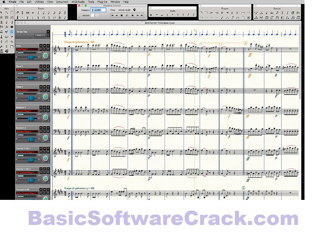MakeMusic Finale v27.0.0.708 with Fix Free Download