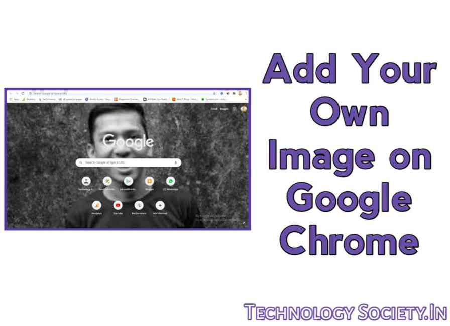 How to Add Your Own Background Image to Google Chrome Start Page