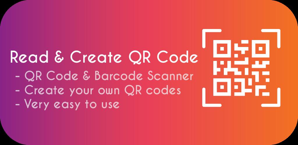QR Scanner : Read & Create QR Code - QRcode & Barcode generator - We