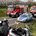 Poważne wypadek niedaleko Gryfina. Zderzyły się dwa pojazdy