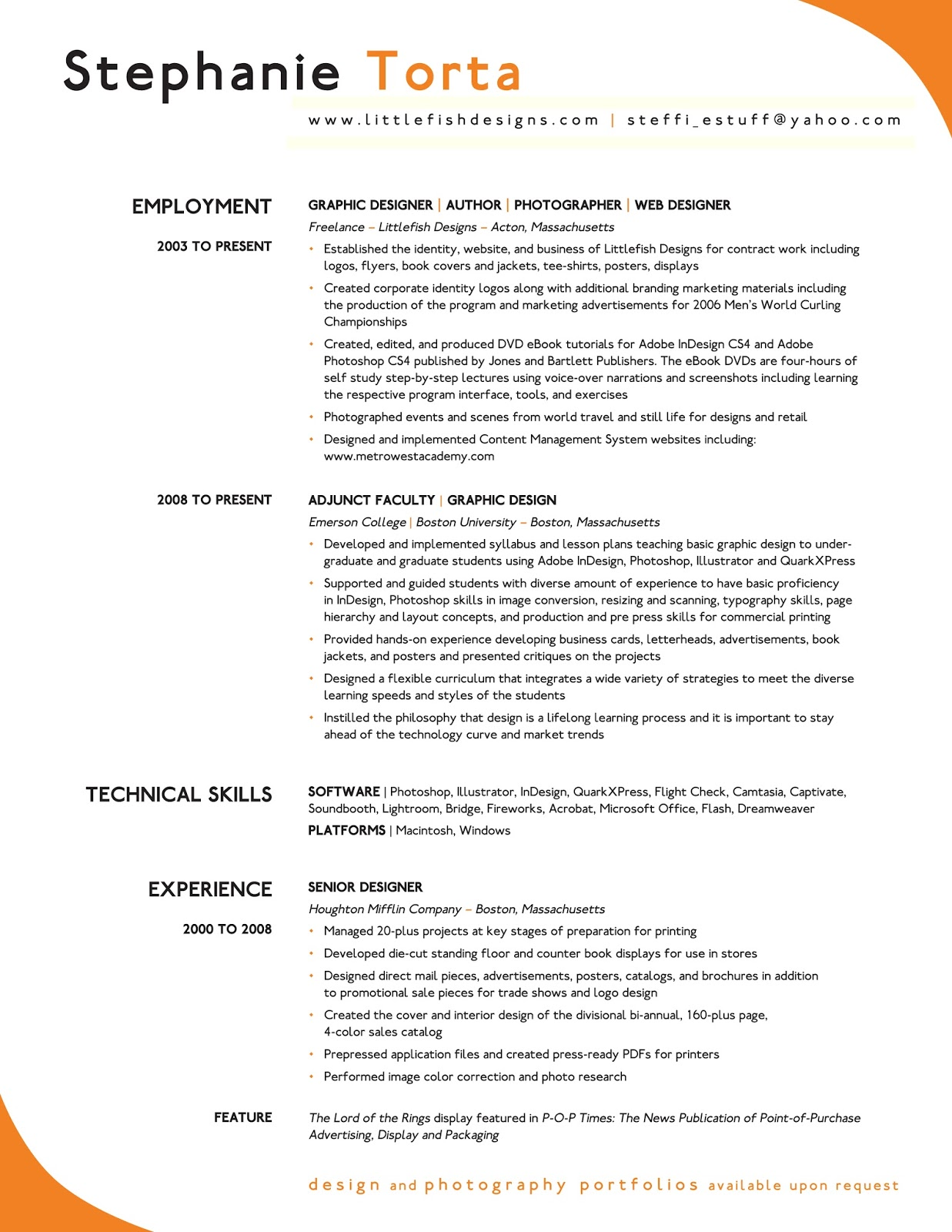 Example Of An Excellent Resume Excellent Resume Sample Sample Resumes