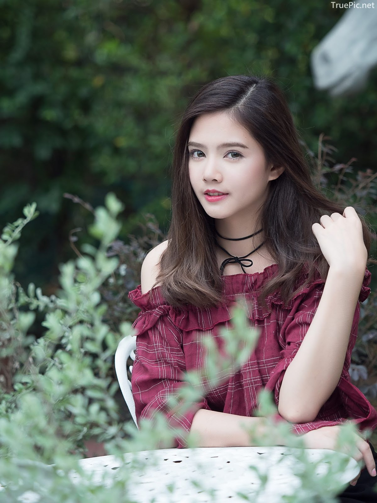 Thailand pretty girl Aintoaon Nantawong – The most beautiful flower in the garden - Picture 9
