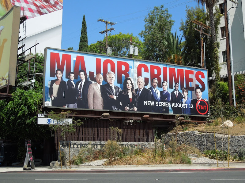 Major Crimes season 1 billboard
