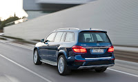 2012 all new Mercedes GL350 luxury suv offroad official press media image
