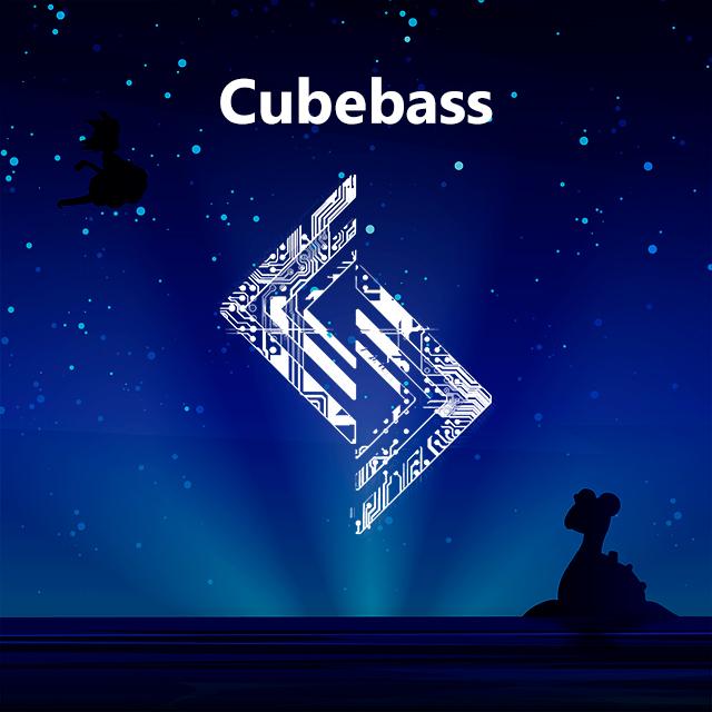 Imagen con el logotipo de Cubebass