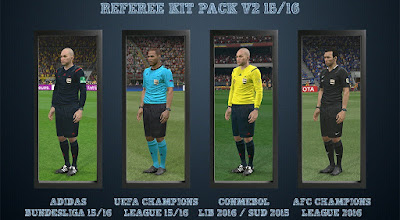 PES 2016 Referee Kit Pack Update Februari 2016