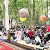 Bupati dan Wakil Bupati Batang Hadiri Kegiatan Minggu Pagi di Taman Kota HKR