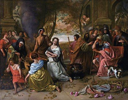 Risultati immagini per Agamennone e Ifigenia
