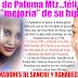 """Cadenas de oraciones por la salud de Paloma Mtz....Su mamá feliz por """"mejoria"""""""