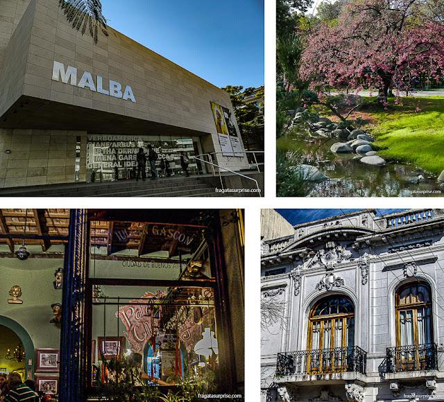 Atrações do bairro de Palermo, Buenos Aires