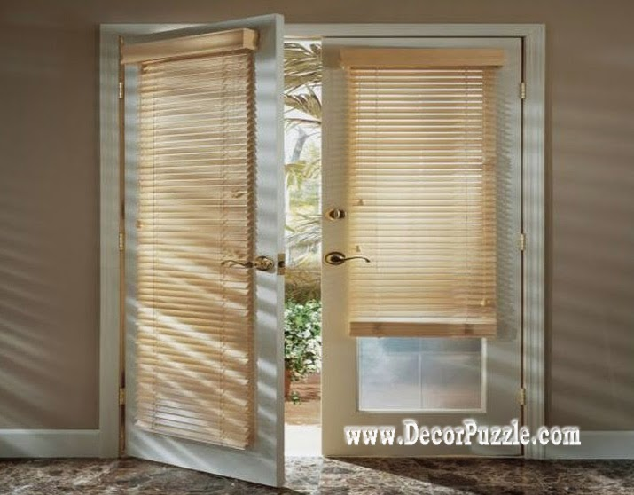 french door blinds and curtain panels, french curtain styles 2018