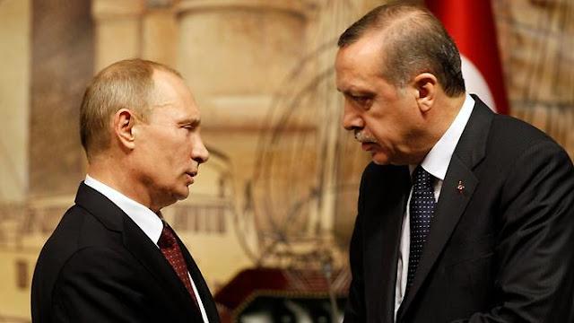 Erdogan pide perdón a Vladimir Putin