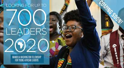 Fully Funded to The United States | Mandela Washington Fellowship 2020 for Young African Leaders