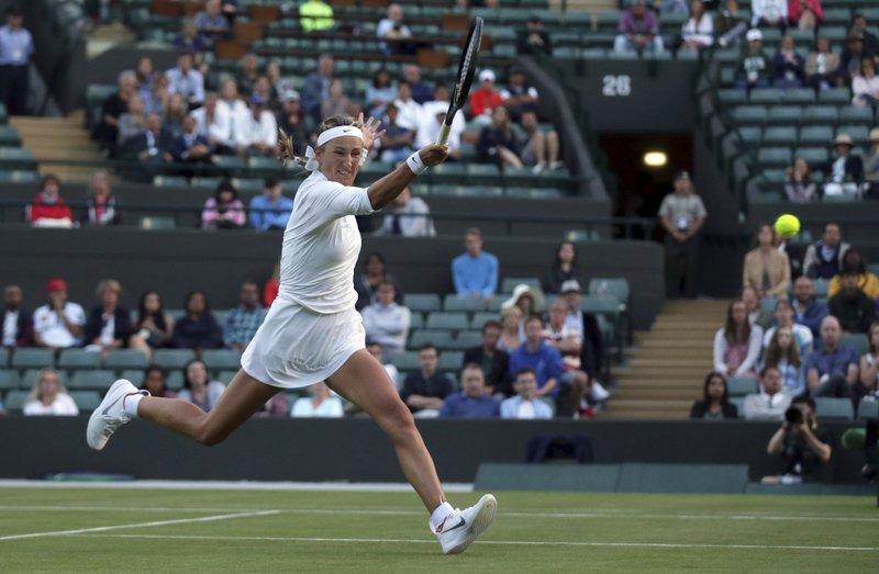 Victoria Azarenka  Recovers from the Brink of Upset, to Beat CiCi Bellis 3-6, 6-2, 6-1 at Wimbledon