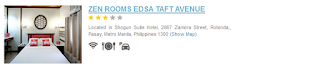 Hotels Near Manila Airport zen rooms