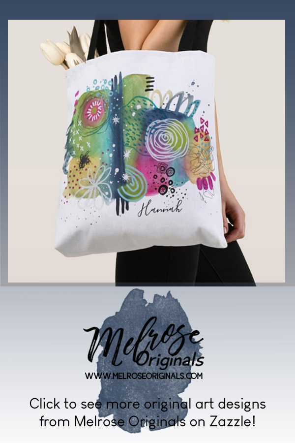 New Watercolor Abstract Products pinnable image