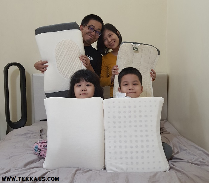 Our Getha 3D  Latex Pillow Review