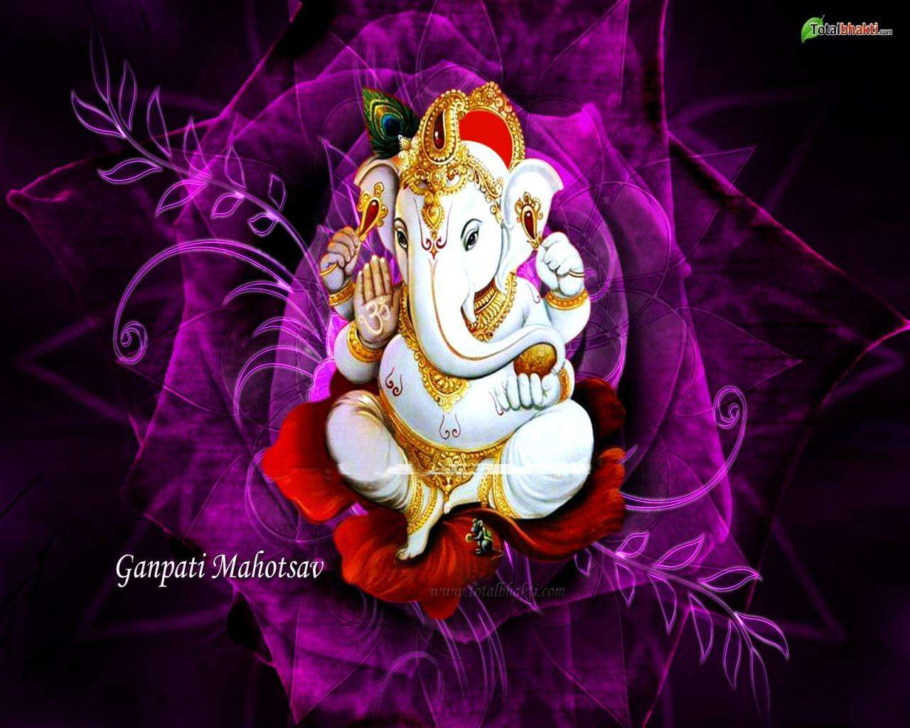 3d Moving Wallpapers Of Lord Krishna 51 Best Ganesha Wallpapers Series 6 Free Wallpapers