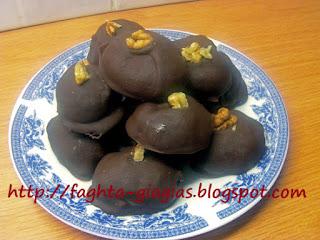 Σοκολατάκια με τα μελομακάρονα που μας περίσσεψαν - από «Τα φαγητά της γιαγιάς»