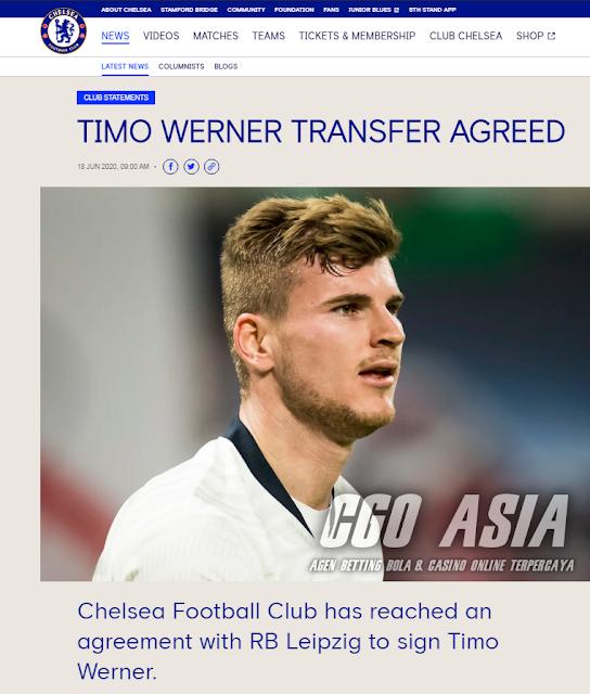 Timo Werner resmi membela Chelsea musim depan - Rumahsport.com