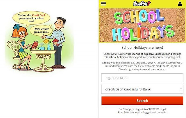 CARDPOW! School Holiday