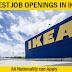 IKEA Job Vacancies in Multiple Locations - Apply Now