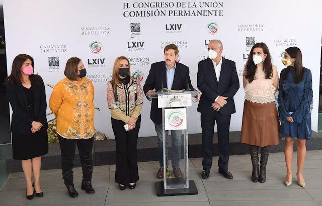 Legisladores del PAN exigen al Ejecutivo la remoción de Hugo López-Gatell