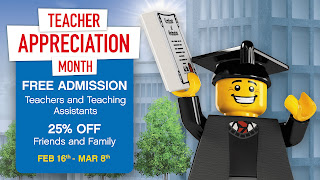Teacher Appreciation Days Legoland Atlanta Educator