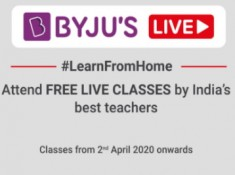 Covid Outbreak: All BYJU's Classes FREE Till 30th April !!