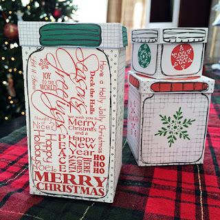 stampa scatole regalo fai da te