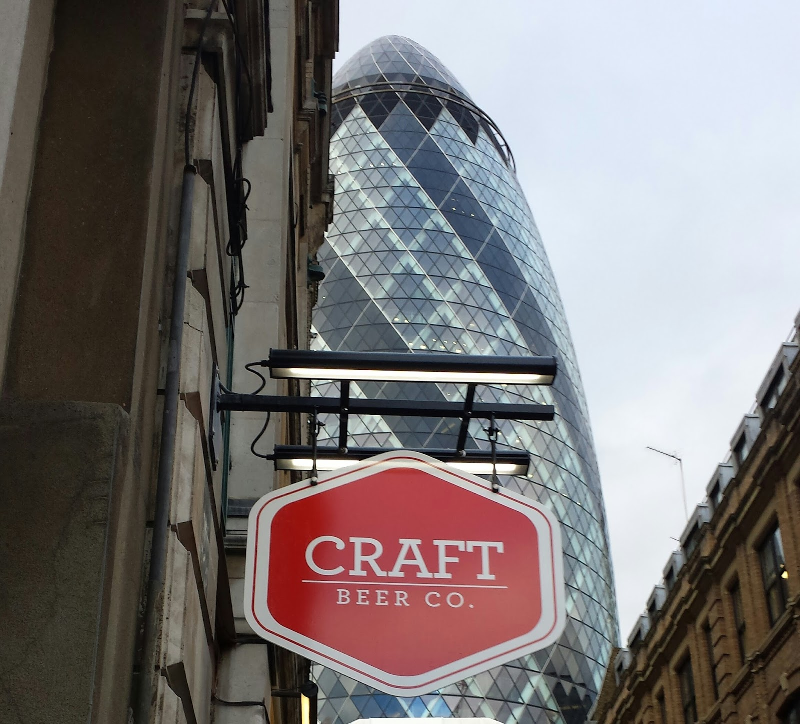 The Craft Beer Co St Mary Axe London