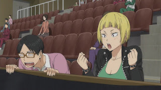 ハイキュー!! アニメ 2期17話 田中冴子 嶋田誠   HAIKYU!! Karasuno vs Wakutani minami