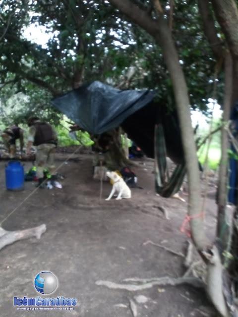 GTO de Apodi e Caraúbas realiza ação no Oeste do RN, localiza esconderijo de quadrilha de criminosos e apreende grande quantidade de produtos roubados