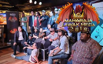 Senarai Biodata Peserta Maharaja Lawak Mega 2019