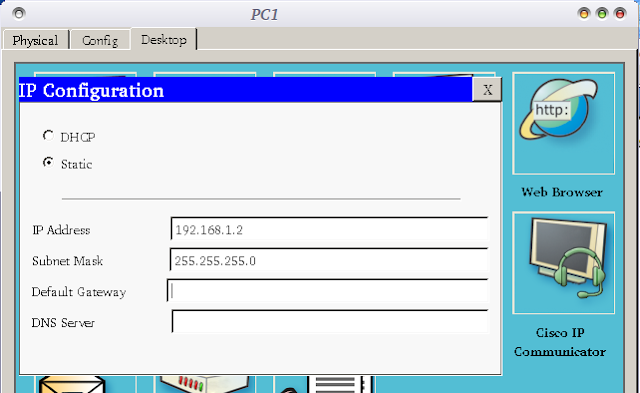 web server cisco packet tracer