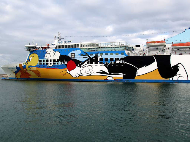 Moby Tommy ferry, IMO 92213110, Livorno