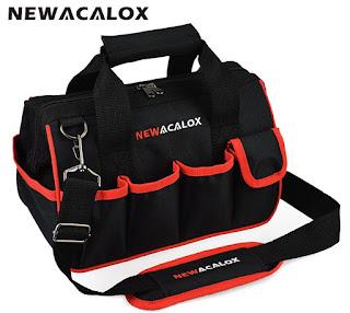 """Bolsa de herramientas NEWACALOX de 12 """""""