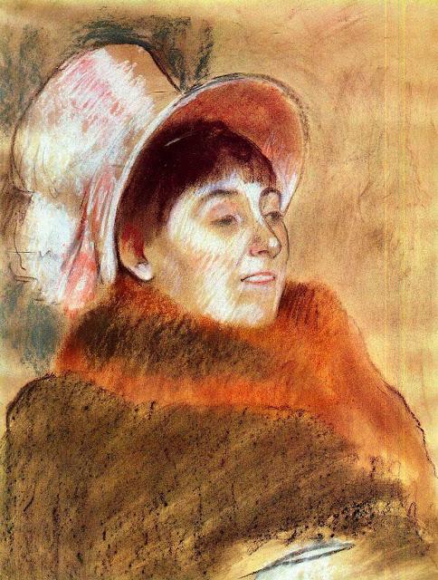 Эдгар Дега - Мадам Мейнц-Мони (1879)