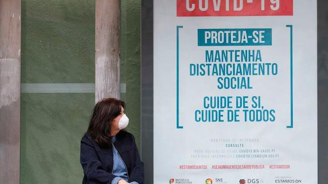 Número de mortos sobe para 380. Covid-19 já infetou 13141 em Portugal