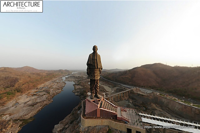 Statue of Unity View
