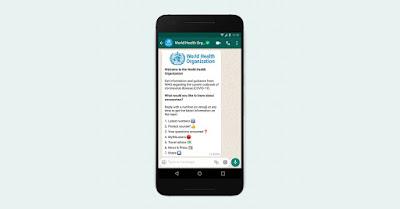 يمكنك الآن متابعة مستجدات كورونا عبر واتساب