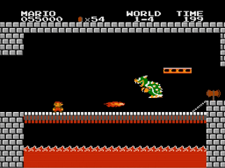 Super Mario Bros. 1985 - Screenshot