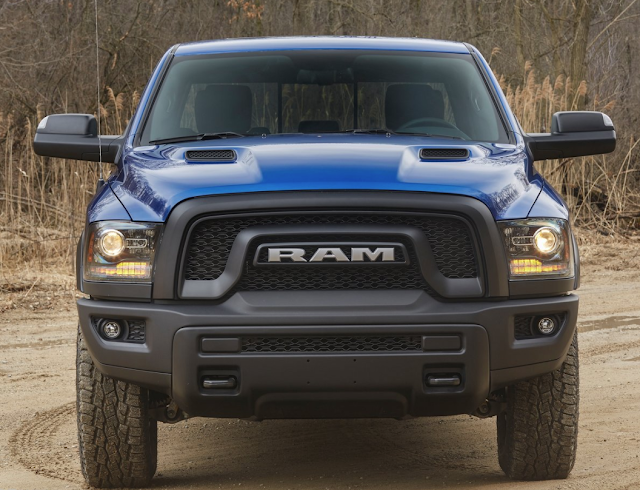 Ram 1500 Rebel Blue Streak 2017
