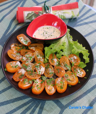 Carole's Chatter: Tomatoes, Chives & Cream