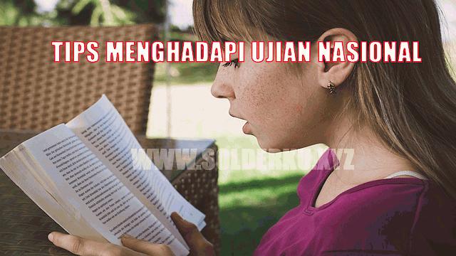 Tips Jitu Menghadapi Ujian Nasional