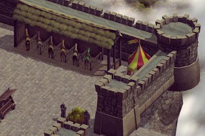 Medieval avalon castle