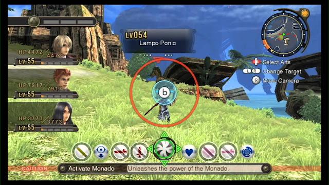 Xenoblade Chronicles screenshot 2