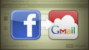 How to Export all your Facebook contracts to gmail image photo