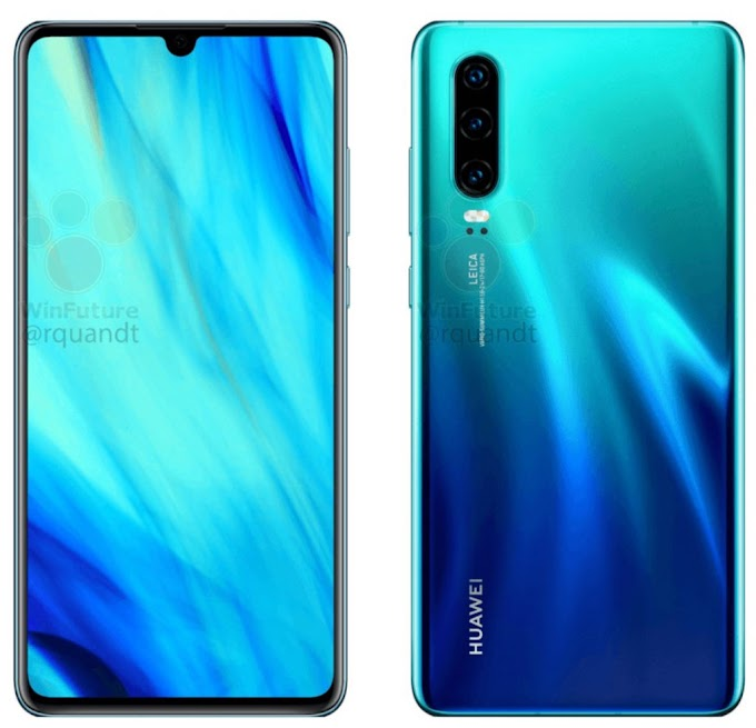 Official Leaks Of Huawei P30 And Huawei P20