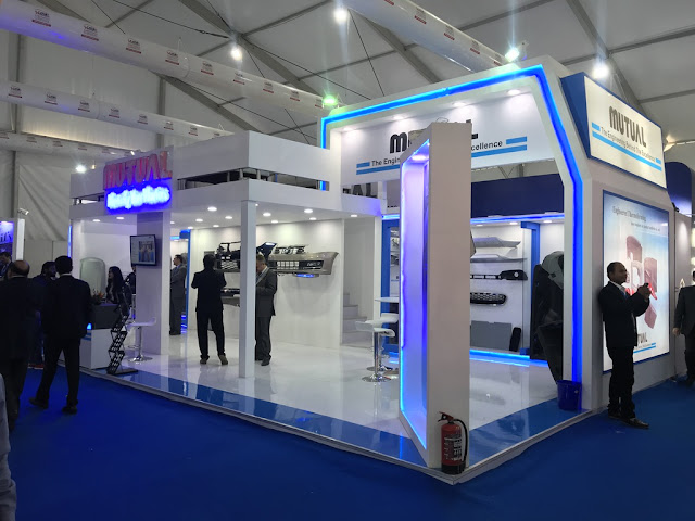 Booth builder in auto expo